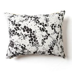 Spots pillow by Rebecca Atwood
