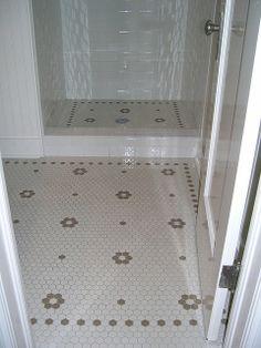 1 Mln Bathroom Tile Ideas Mosaic Hex Floral Bath Floor