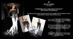 Home made Post press release: Brand: Jean Fares Couture, Cannes 2014 Concept & Copywriting: NMIW  Execution: Media dept. at Jean Fares Couture Approval: Fares family!