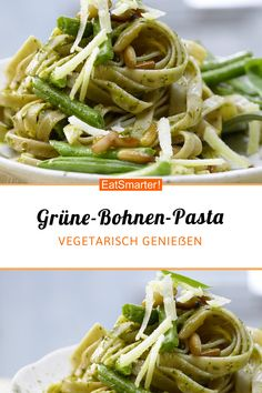 Grüne-Bohnen-Pasta Vous êtes à la bonne adresse pou - Pollo Caprese, Ensalada Caprese, Sunday Dinner Recipes, Paleo Dinner, Protein Dinner, Pasta With Green Beans, Country Dinner, American Dinner, Summer Recipes
