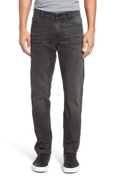 New DL1961 Cooper Slouchy Skinny Fit Jeans (Duval) ,RAVEN BLACK fashion online. [$168]newoffershop win<<
