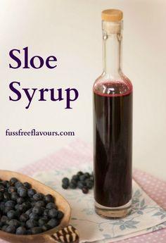 #SeasonalRecipes: Alcohol free Sloe Syrup - Harvesting the Blackthorn #recipe by @FussFreeHelen