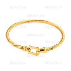 pulsera de moda de dorado en acero-SSBTG264185