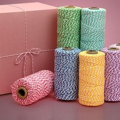 Colored Baker's Twine - papermart.com