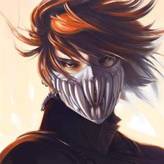 Anime Masquerade Man | Anime Guy With Mask Image