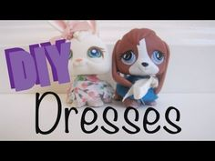 ▶ DIY Clothes: How To Make A LPS Dress/Skirt - YouTube