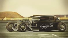 79 Combat Hot Rod concept by Mikael Lugnegård for Fuel magazine