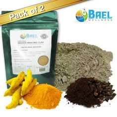 Bentonite Clay with Turmeric Cloves Powder Indian Healing Clay Fullers Earth Powder for Facial Mask Hair Bath Spa by Bael Wellness * Find out more about the great product at the image link. Facial Skin Care, Facial Masks, Natural Skin Care, Facial Hair, Natural Beauty, Natural Facial, Organic Turmeric, Turmeric Root, Tumeric Face