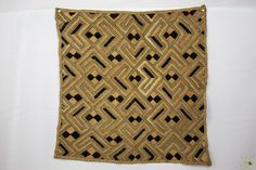Kuba Cloth ( Shoowa ) Raffia Textile - Congo DRC 6 Mo, Congo, Embroidery Thread, Weaving, Textiles, Stitch, Detail, Ebay, Clothes
