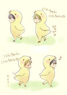 Makoto and Haru | Free!