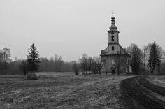 kostel Louky