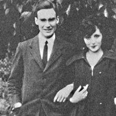 Anaïs Nin and her first husband Hugh Guiler (Ian Hugo) Anais Nin, Henry Miller, Writer, The Past, Art Gallery, Husband, Books, People, Photography