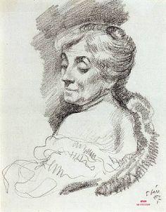 Portrait of Mme Van Rysselberghe, 1907  Theo van Rysselberghe