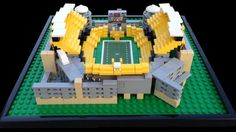 Steelers Football Mini Lego Heinz Field from Burik Model Design