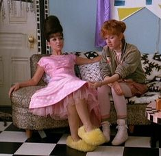 Pretty In Pink *  Iona's Prom Dress. Annie Potts is so funny.
