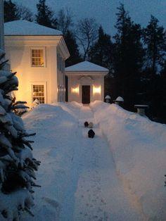 Snow on Kent