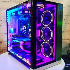 Here's a rundown of 4 of the best gaming PCs you should be getting in 2018 and beyond. If you're looking for a gaming PC that can handle both your gaming activities and work, these won't disappoint. Custom Gaming Computer, Gaming Pc Build, Computer Build, Gaming Pcs, Computer Setup, Computer Case, Best Gaming Setup, Gaming Room Setup, Pc Setup