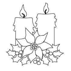 View the Christmas candles pictures. Print and color the Christmas candles drawing. Christmas Templates, Christmas Printables, Christmas Colors, Christmas Art, Nordic Christmas, Modern Christmas, Christmas Crafts, Christmas Decorations, Christmas Ornaments
