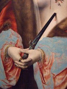 Lucretia by Joos van Cleve Flemish 1525 Oil on panel Renaissance Kunst, Les Religions, Classic Paintings, Art Paintings, Art Hoe, Classical Art, Old Art, Oeuvre D'art, Traditional Art
