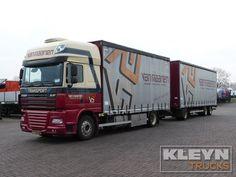 For sale: Used and second hand - Truck DAF Curtainsider XF 105.460 #daftrucks #kleyntrucks