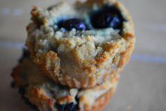 Lemon Blueberry Muffins (AIP, Paleo)