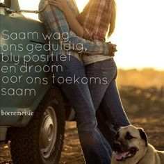 Afrikaanse Quotes, Live Love, Qoutes, Love Quotes, Movie Posters, Relationships, Inspirational, Quotations, Quotes