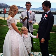 'Frisco Wedding! @myfairlindy  #wedding #sanFrancisco #cute #cutekids #50's #stylizedweddings