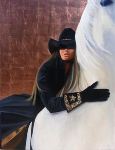 1 david devary prints | Best Friends David DeVary Cowgirl Horse Giclee Canvas - Prints