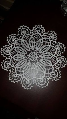 beautiful crochet doily mix of Art Au Crochet, Crochet Lace Edging, Crochet Borders, Crochet Squares, Crochet Home, Love Crochet, Beautiful Crochet, Crochet Stitches Free, Crochet Motifs