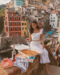 Italy, my favorite place in the world. This recent trip I decided to explore Cinque Terre for the first tim… Road Trip Europe, Europe Travel Tips, Places In Europe, Travel Guides, Vacation Style, Vacation Outfits, Summer Outfits, Cinque Terre Italy, Italy Italy
