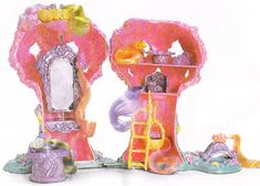 Lady Lovely Locks Pixietails Tree House {Matel vintage toy} // 80's Childhood Memory (1987)