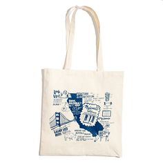 California / Illustrated Stateside Tote