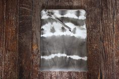 NOMAD Collection - Leather Tie Dye Pouch - Small