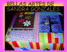 puf sancris  as bellas artes de sandra gonzales.