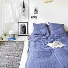 Funda nórdica de lino... I love you! | La Garbatella: blog de decoración de estilo nórdico, DIY, diseño y cosas bonitas.