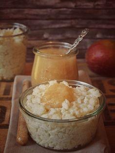 Rezept für Milchreis mit Zimt und Zucker oder Apfelmus