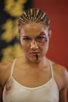Image result for female mma injury