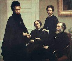 The Dubourg Family by Fantin-Latour - Henri Fantin-Latour —