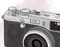 Camera illustration by Tamalia Camera Illustration, Art Studies, Educational Activities, My Drawings, Behance, Teaching Materials, Educational Crafts
