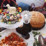 Easter fair in Chojnice city