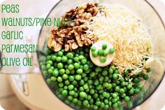 How To Make Pea Pesto-okay as a topper for pasta but doesn't quite replace where real pesto is needed