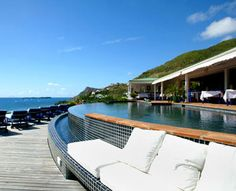 Hotel le Toiny in Saint Barthelemy, French Territories at Hotels of the Rich and Famous