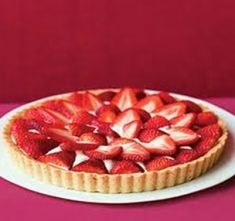 Scrumptious Strawberry Tart - Sweets and Lollies