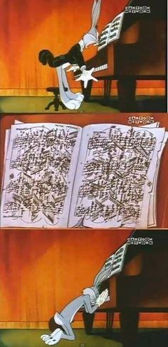 My favorite Loony Tunes episodes were always the ones put to classical music.