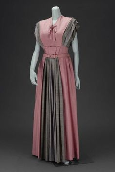 Dress  Gilbert Adrian, 1947  The Museum of Fine Arts, Boston