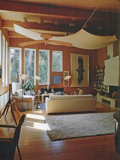 Home Interior Design — Paradise Backyard: Alvar Aalto - Houses Alvar Aalto, Canopy Architecture, Architecture Design, Chinese Architecture, Futuristic Architecture, Interior Exterior, Home Interior Design, Living Room Designs, Living Spaces