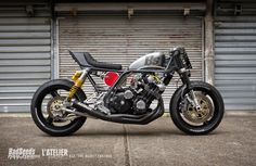 "RocketGarage Cafe Racer: CBX BS4 ""THE BEAST"""