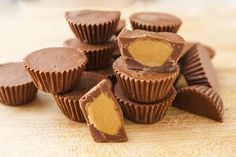 This recipe is inspired by: http://www.recipetineats.com/homemade-reeses-peanut-butter-cups/