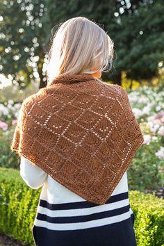 Kearsarge Shawl - Knitting Patterns and Crochet Patterns from KnitPicks.com by Edited by Knit Picks Staff