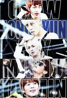#SHINee *THOUGHTS*....i am a huge fan of Kpop and my favorite boy band is a group named SHINee. My favorite is Minho (second from the bottom) he is in a lot of Korean movies and shows that i have seen :) he is my future husband.